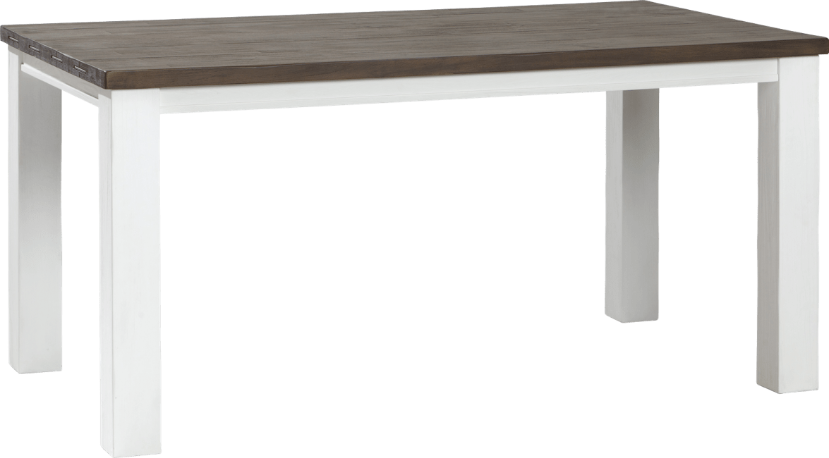 Velasco - table a rallonge 160 (+ 50) x 90 cm