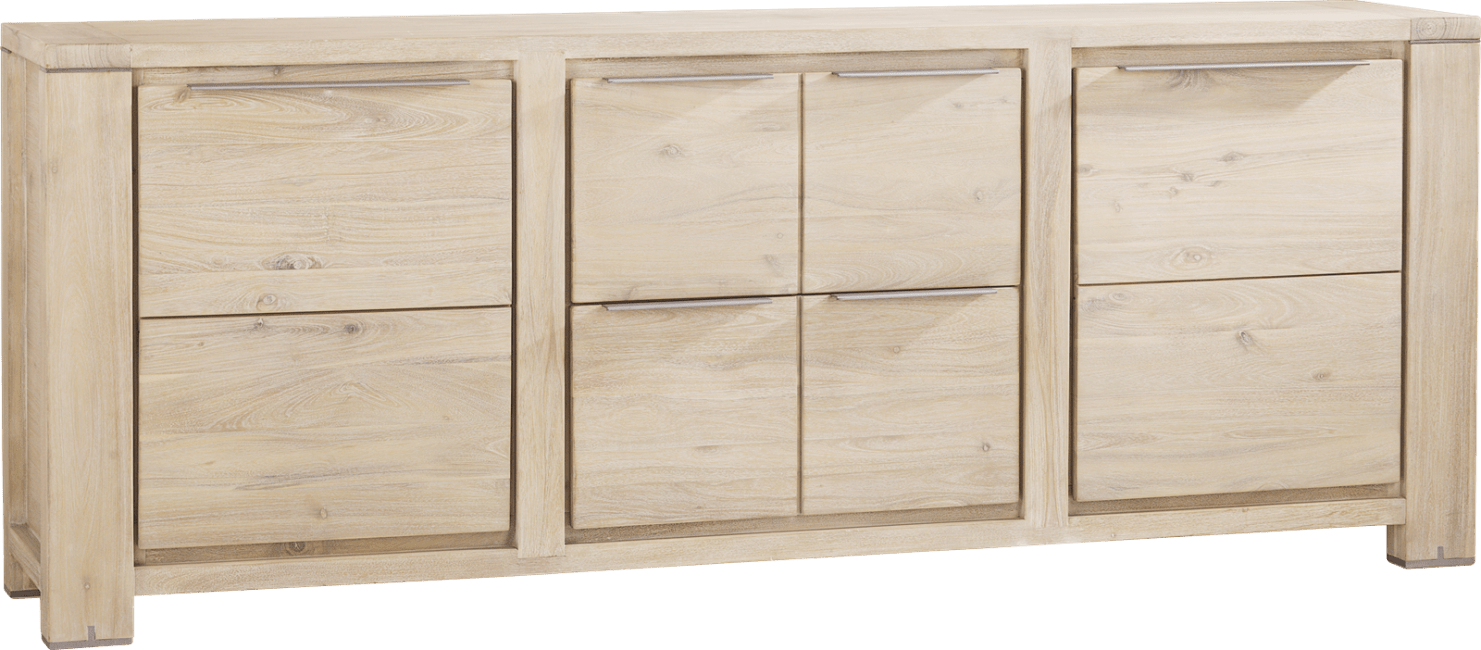Buckley - dressoir 220 cm - 2-deuren + 2-laden
