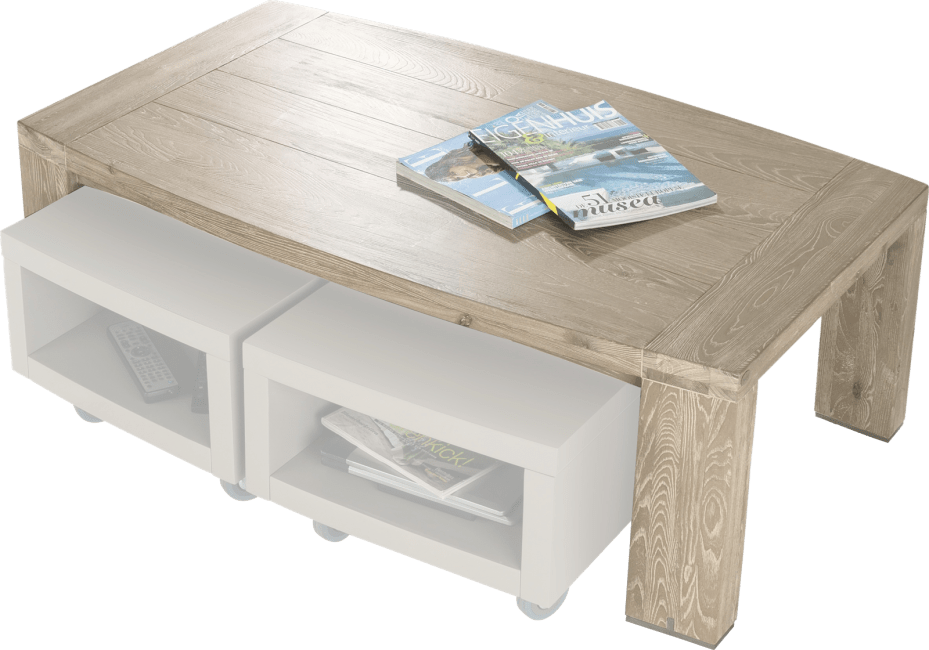 Buckley - table basse 120 x 70 cm