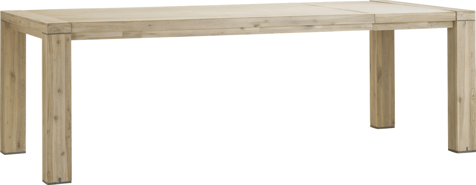 Buckley - table a rallonge 160 (+ 50 cm) x 100 cm