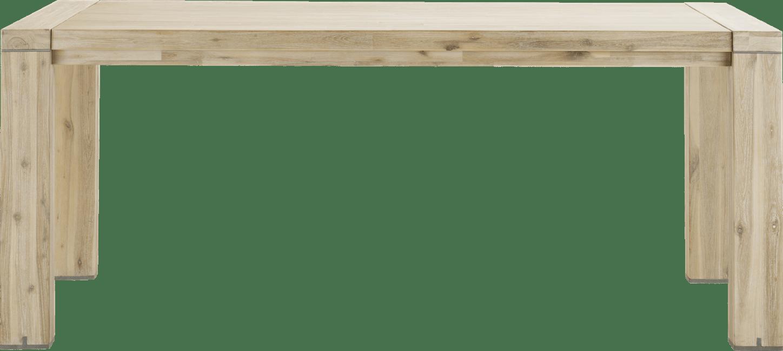 Buckley - uitschuiftafel 190 (+ 50 cm) x 100 cm