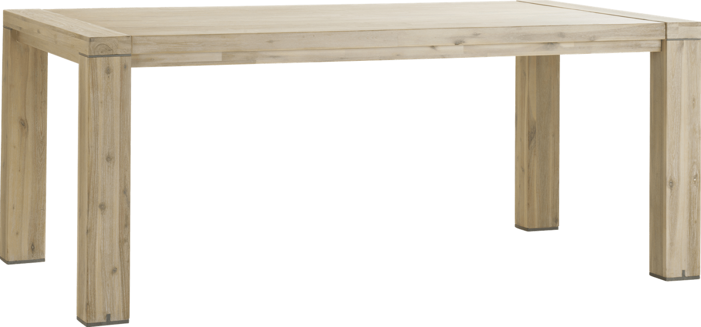 Buckley - ausziehtisch 190 (+ 50 cm) x 100 cm