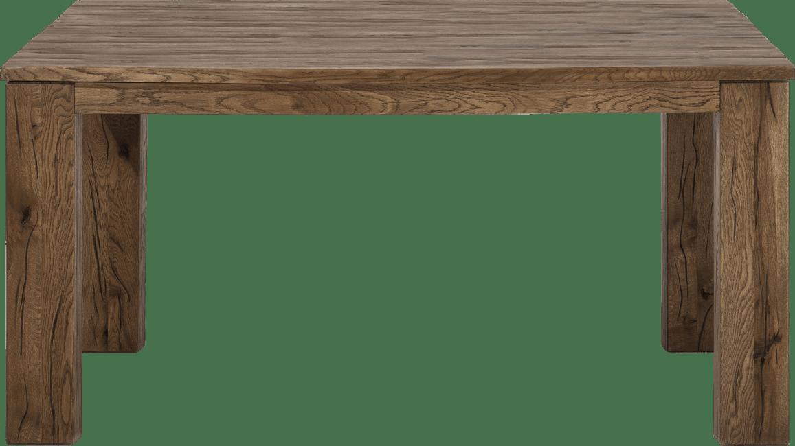 Masters - eetkamertafel 160 x 140 cm - hout 12x12/10x14
