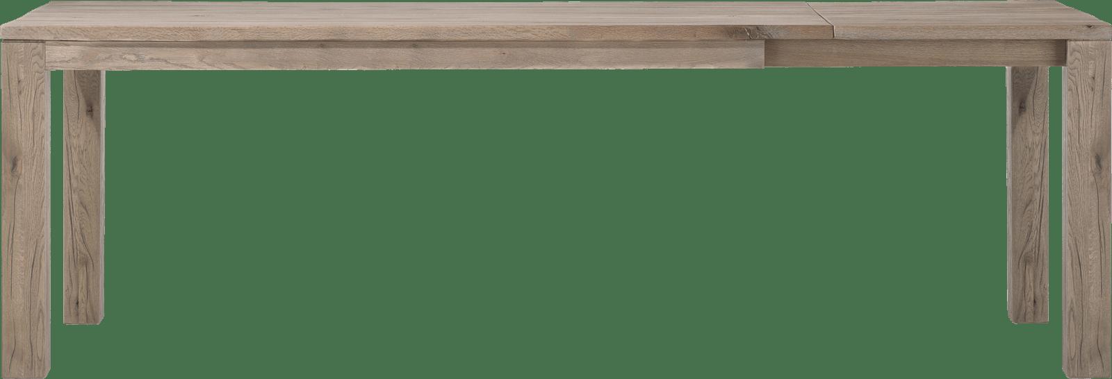 Masters - uitschuiftafel 180 (+ 60) x 90 cm - hout 9x9