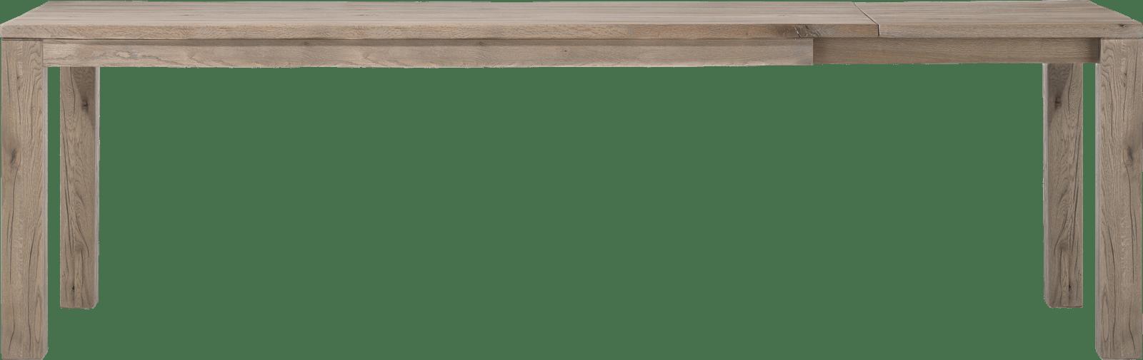 Masters - uitschuiftafel 200 (+ 60) x 100 cm - hout 9x9