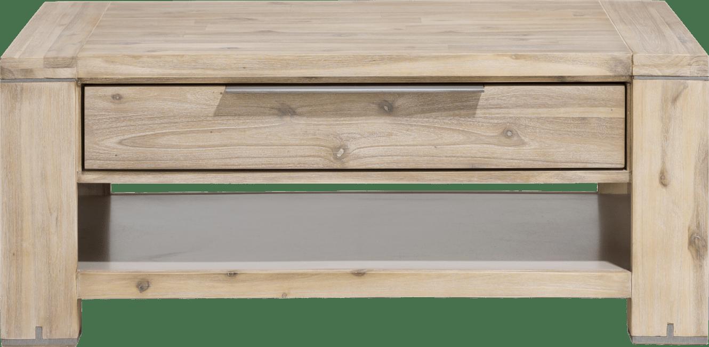 Buckley - table basse 110 x 60 cm + 1-tiroir t&t + 1-niche