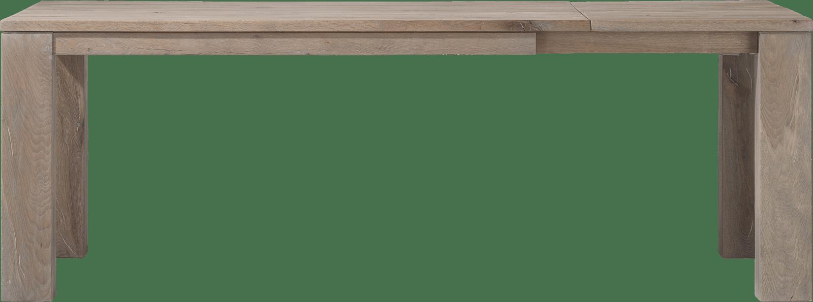 Masters - uitschuiftafel 160 (+ 60) x 90 - hout 12x12/10x14