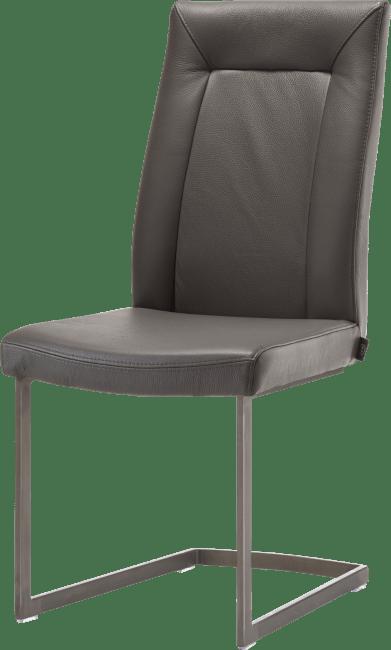 Malvino - stuhl - vintage metall swing viereckig