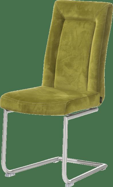 Malvino - stuhl - edelstahl swing rund + handgriff