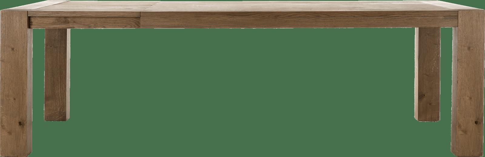 Santorini - uitschuiftafel 190 (+ 60) x 100 cm