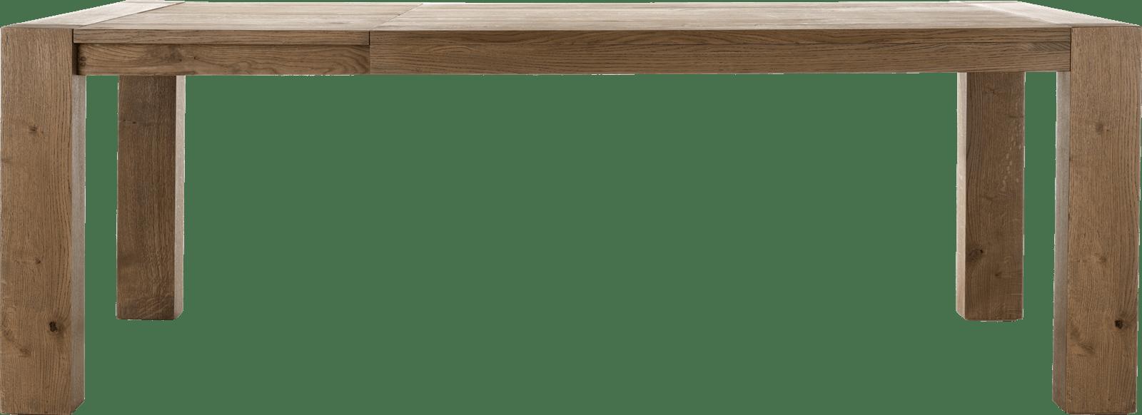 Santorini - table a rallonge 160 (+ 60) x 100 cm