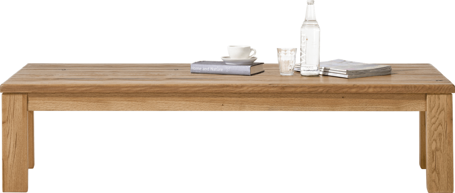 Masters - table basse 160 x 90 cm - bois 9x9