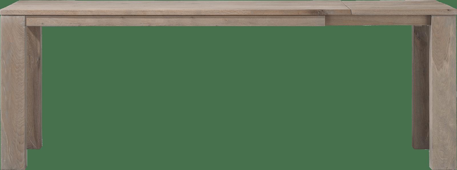 Masters - uitschuif-bartafel 200 (+ 60) x 100 cm - hout 12x12/10x14