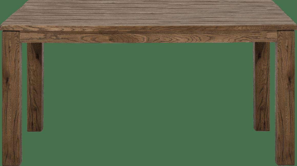 Masters - tisch 160 x 140 cm - holz 9x9
