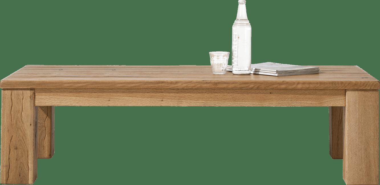 Masters - salontafel 140 x 70 cm - hout 12x12/10x14