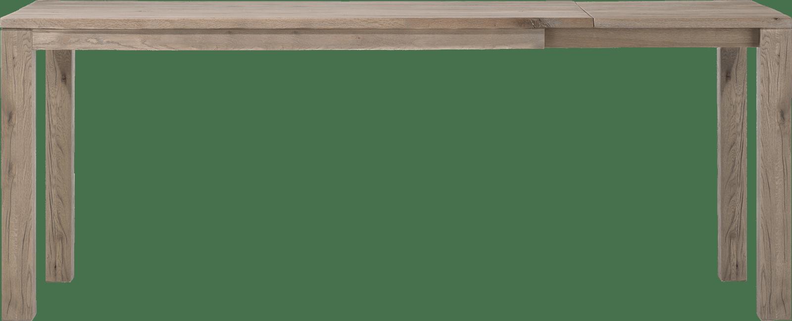 Masters - uitschuif-bartafel 180 (+ 60) x 90 cm - hout 9x9