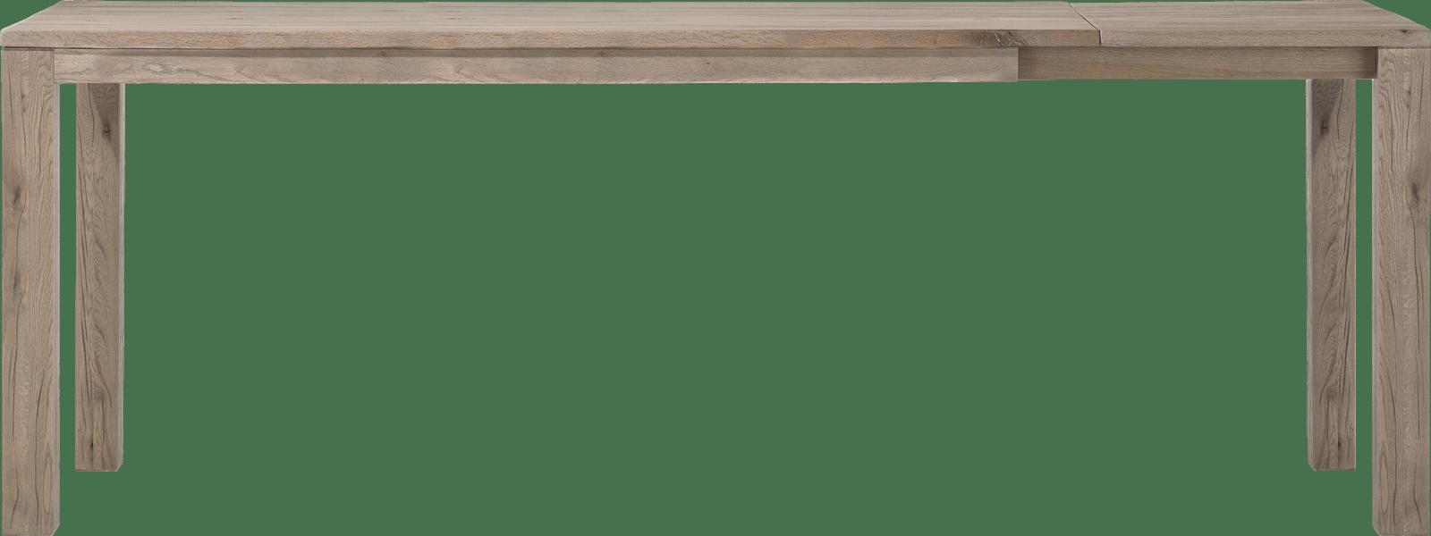 Masters - uitschuif-bartafel 200 (+ 60) x 100 cm -hout 9x9