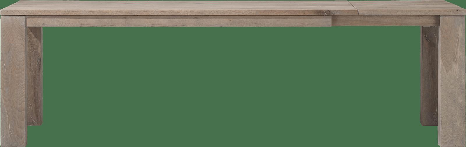 Masters - uitschuiftafel 200 (+60) x 100 cm - hout 12x12/10x14