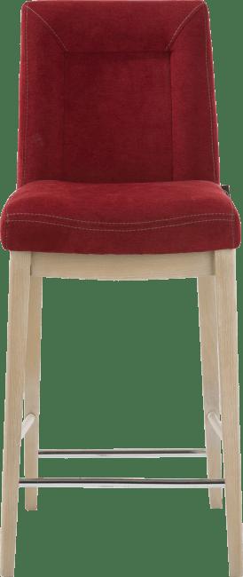 Malene Bar - barstoel - beukenhouten poot + greep