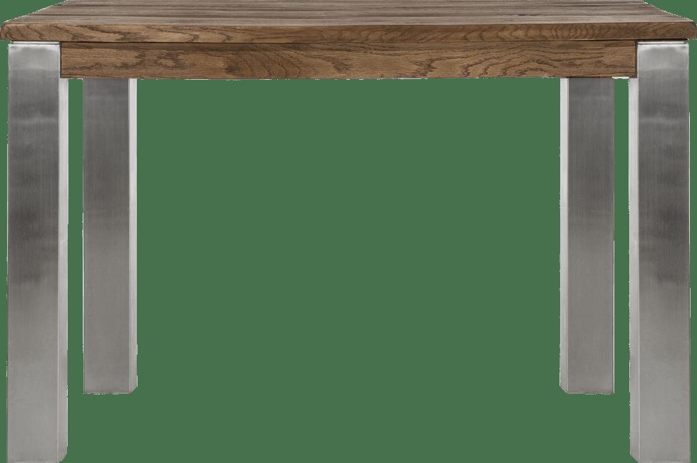Masters - table 120 x 70 cm - inox 9x9