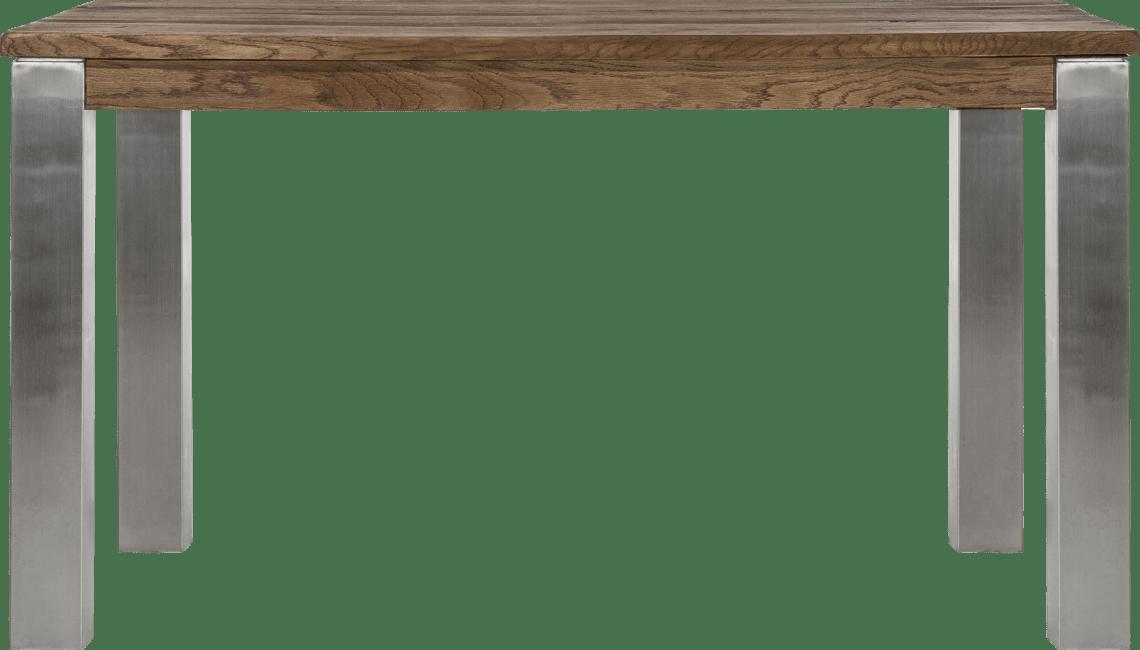 Masters - eetkamertafel 140 x 70 cm - rvs 9x9