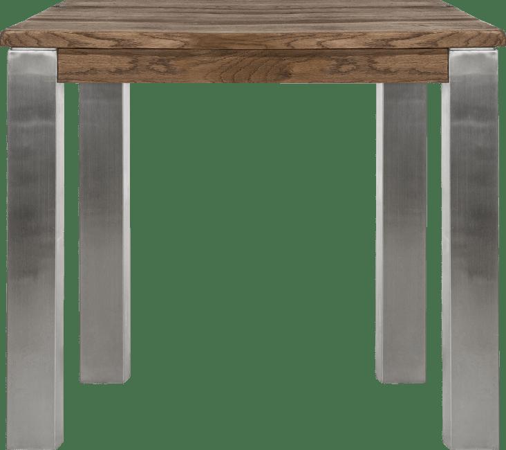 Masters - eetkamertafel 90 x 90 cm - rvs 9x9