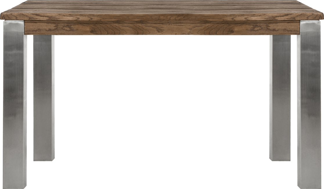 Masters - eetkamertafel 140 x 90 cm - rvs 9x9
