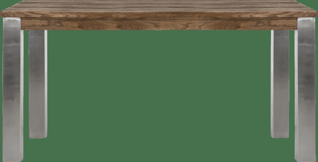 Masters - eetkamertafel 160 x 90 cm - rvs 9x9