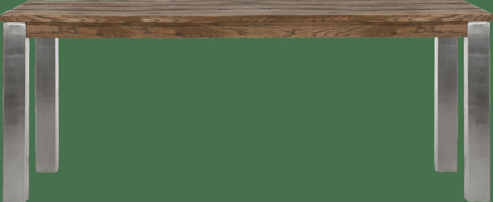 Masters - eetkamertafel 200 x 100 cm - rvs 9x9
