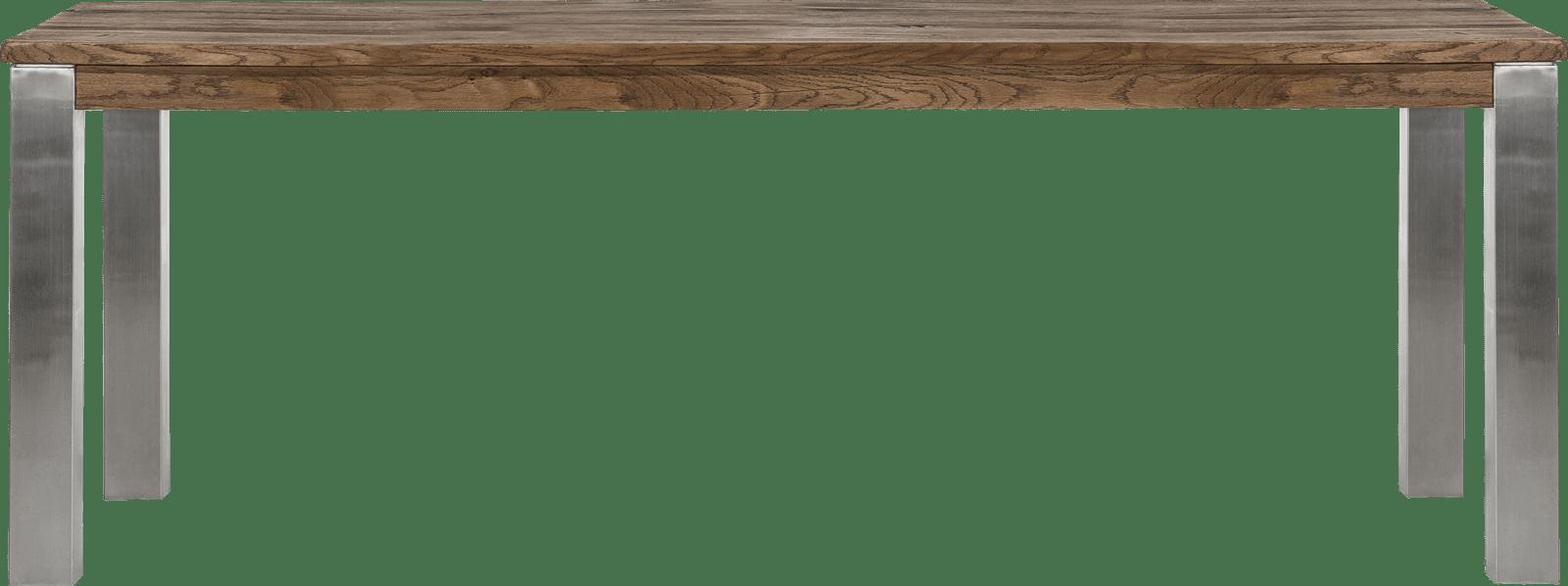 Masters - eetkamertafel 220 x 100 cm - rvs 9x9