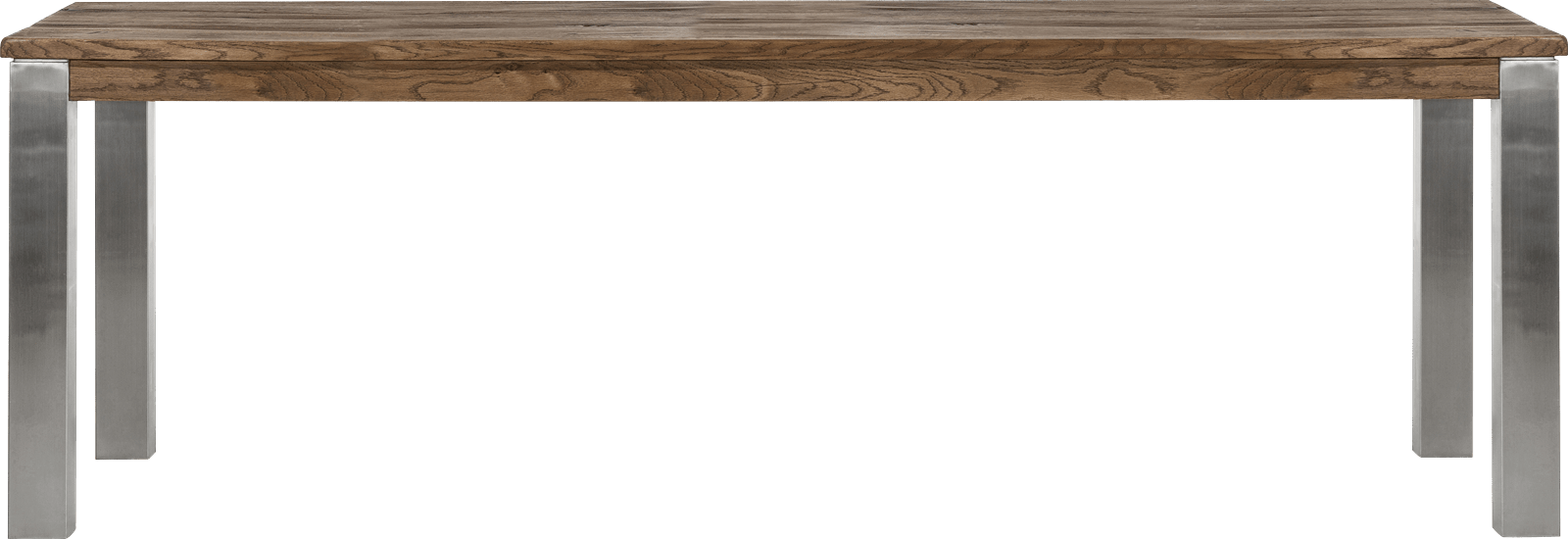 Masters - eetkamertafel 240 x 100 cm - rvs 9x9