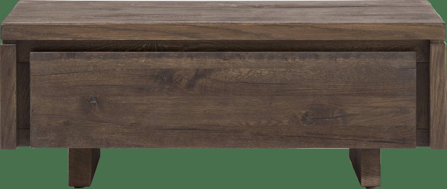 More - tv-sideboard 100 cm - 1-klappe - holz