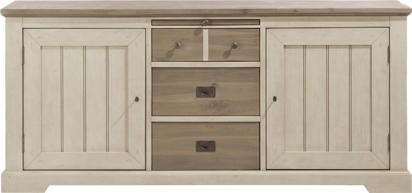 Le Port - sideboard 190 cm - 2-tueren + 3-laden + 1-tablett