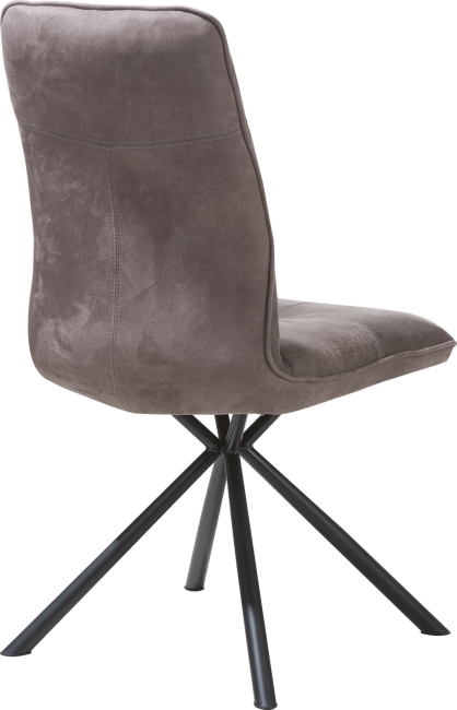 Milan Leder - chaise - pied noir