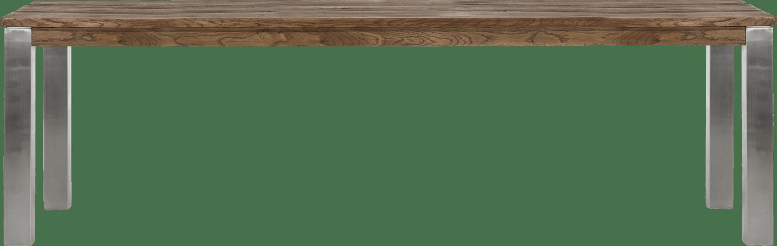 Masters - eetkamertafel 260 x 100 cm - rvs 9x9