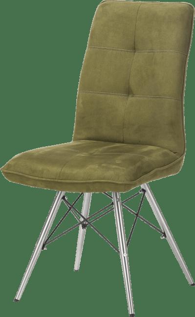 Milva - stuhl - edelstahl design gestell