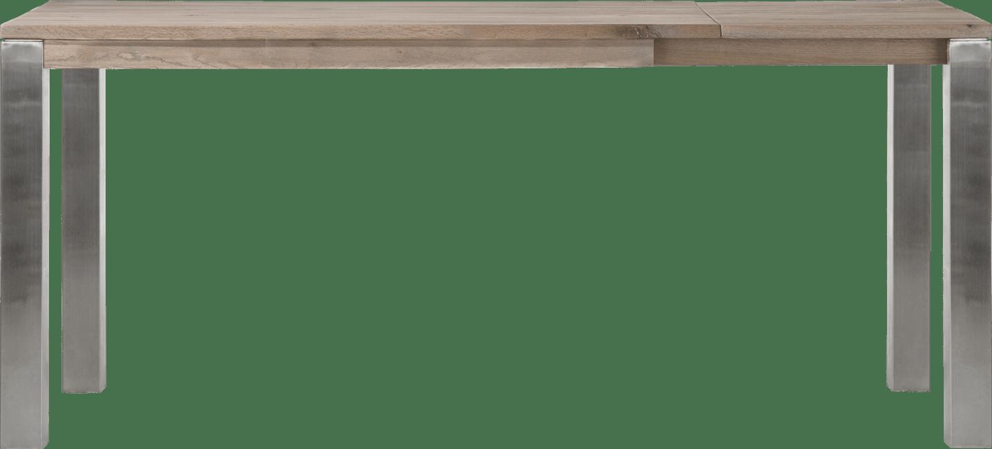 Masters - auszieh-tresentisch 160 (+ 60) x 90 cm - edelstahl 9x9