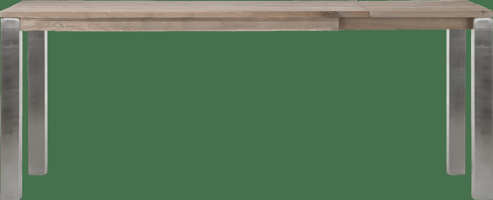 Masters - uitschuif-bartafel 180 (+ 60) x 90 cm - rvs 9x9