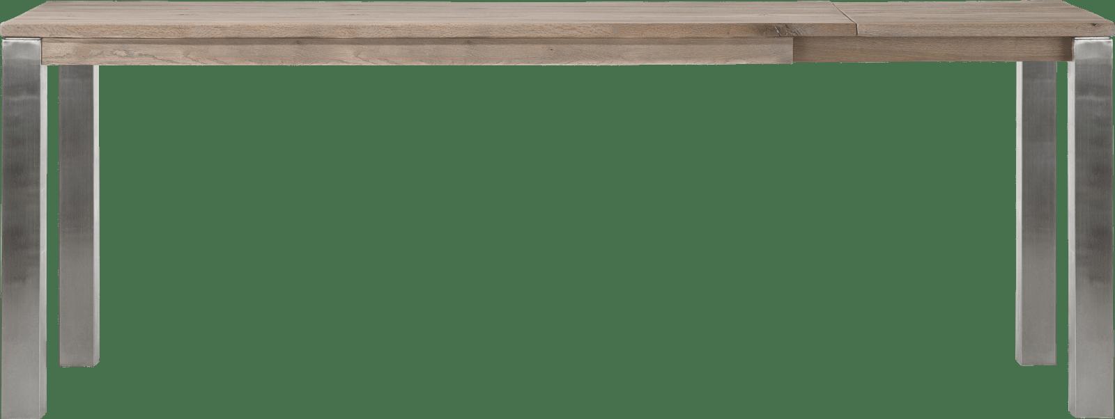 Masters - uitschuif-bartafel 200 (+ 60) x 100 cm - rvs 9x9