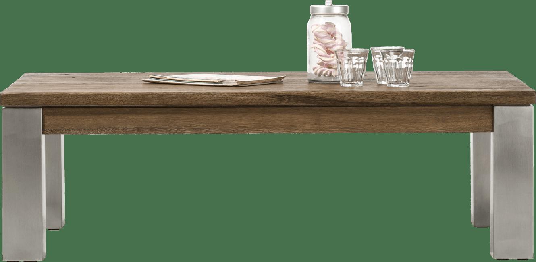 Masters - table basse 120 x 70 cm - inox 9x9