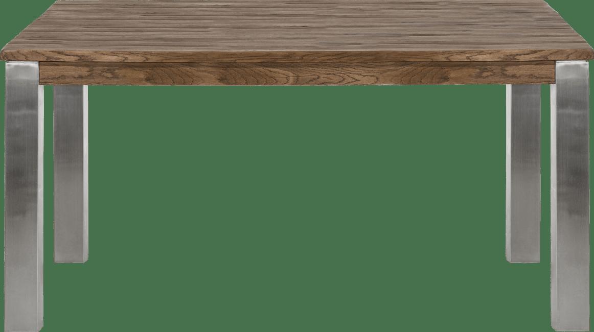 Masters - eetkamertafel 160 x 140 cm - rvs 9x9