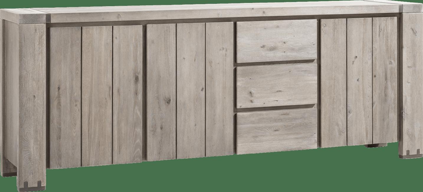 Avola - sideboard 240 cm - 3-tueren + 3-laden