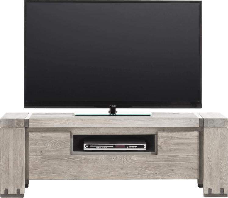 Avola - tv-dressoir 130 cm - 1-klep + 1-niche