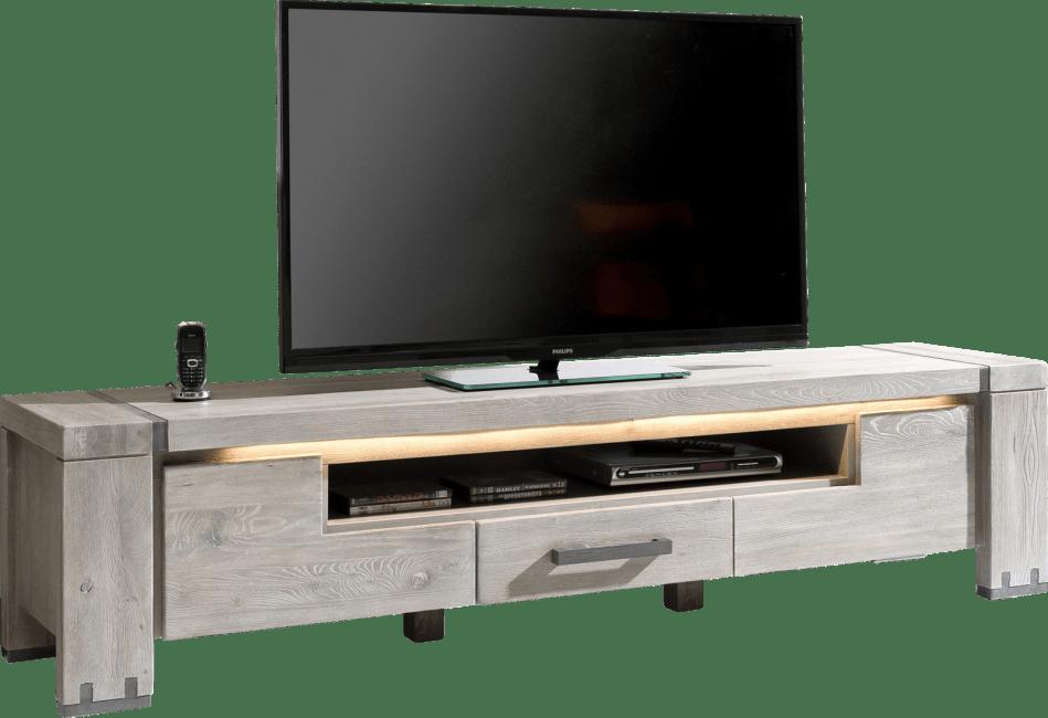 Avola - tv-sideboard 190 cm - 2-klappen + 1-lade + 1-nische