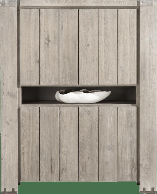 Avola - armoire 4-portes + 1-niche
