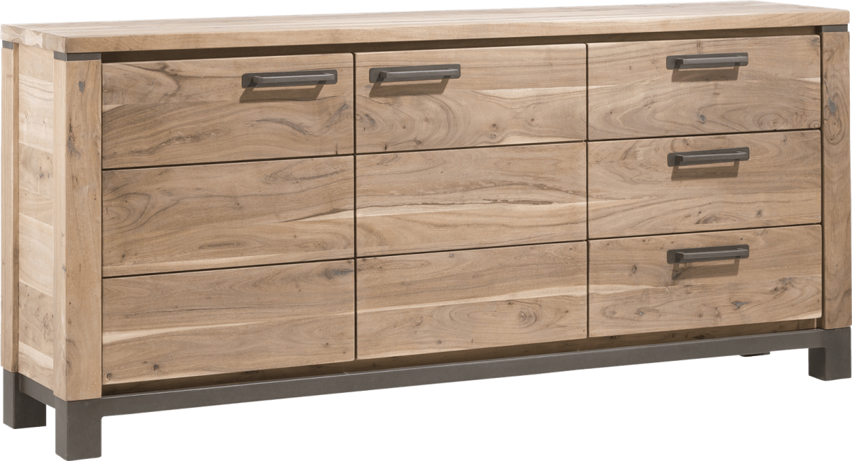 Falster - sideboard 190 cm - 2-tueren + 3-laden