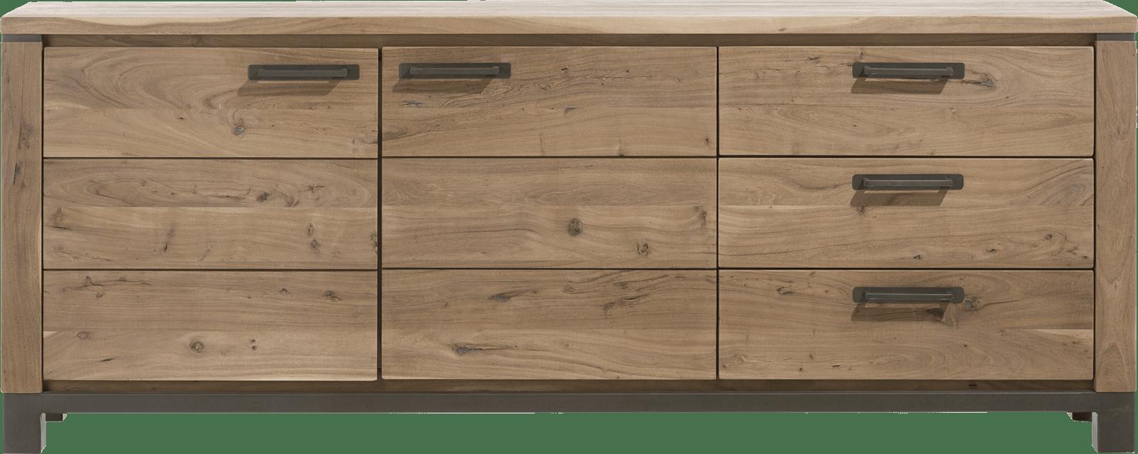 Falster - dressoir 220 cm - 2-deuren + 3-laden