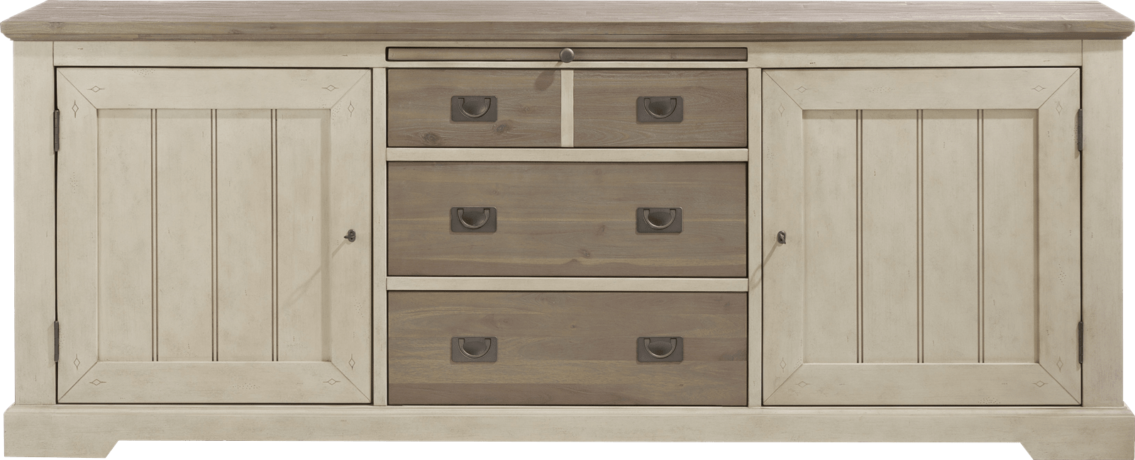 Le Port - sideboard 220 cm - 2-tueren + 3-laden + 1-tablett