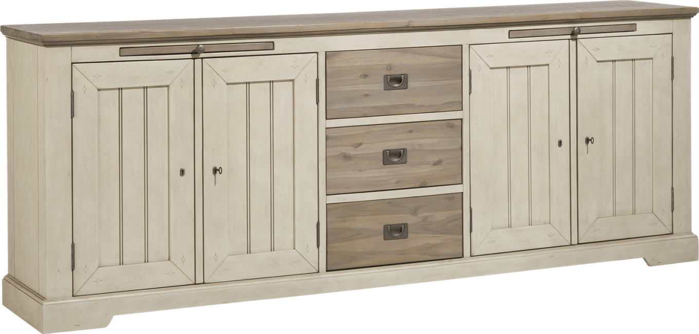 Le Port - sideboard 240 cm - 4-tueren + 3-laden + 2-tabletts