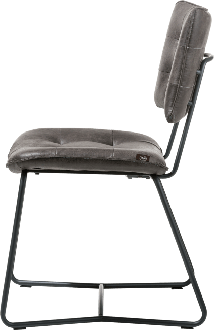 Julien - chaise - cadre noir - corsica